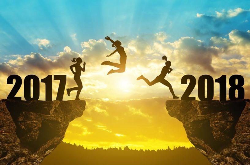 διατροφή Διατροφικοί στόχοι για τη νέα χρονιά Happy New Year Jumping From 2017 To 2018